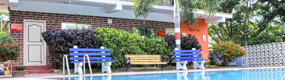 Pool Side Rooms Best Resorts In Hyderabad